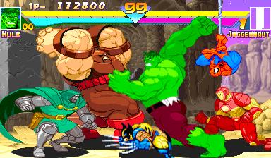 Marvel Super Heroes Us 951024 Phoenix Edition Bootleg Rom