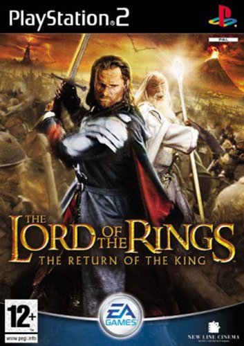 Lord of the Rings Return of the King USA PS2DVD-USA