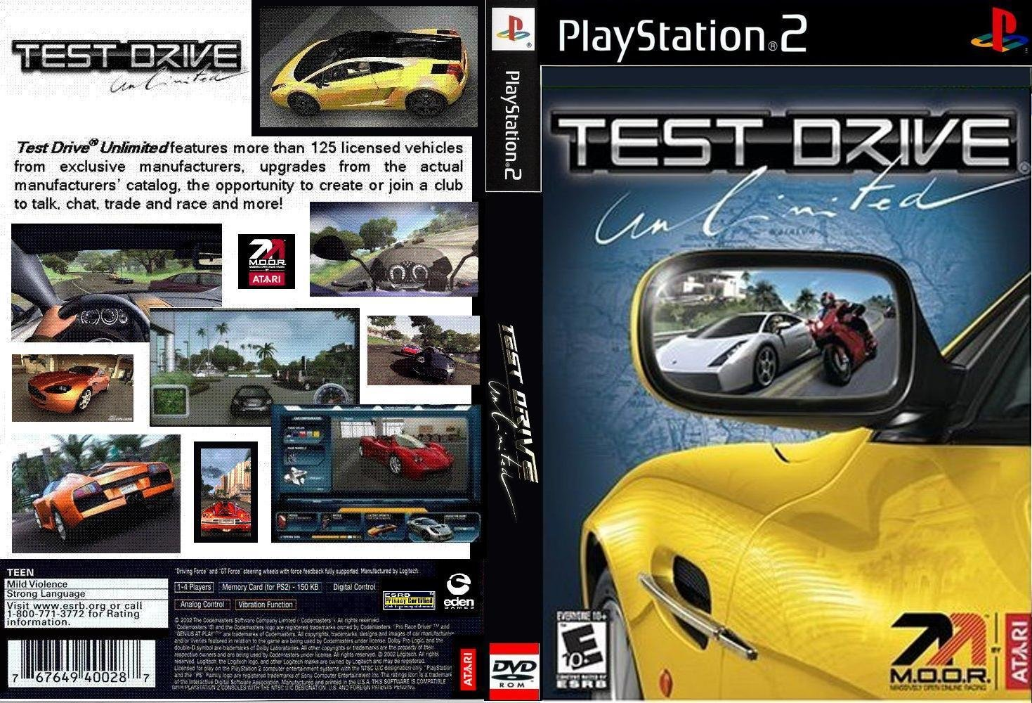 Test drive unlimited iso psp download