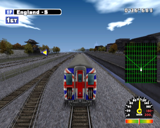X-treme Express - World Grand Prix (Europe) ISO Download
