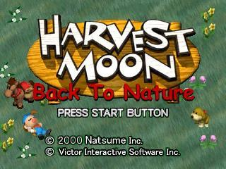 Screenshot Thumbnail  / Media File 4 for Harvest Moon - Back to Nature [U]