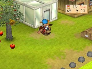 Screenshot Thumbnail  / Media File 7 for Harvest Moon - Back to Nature [U]
