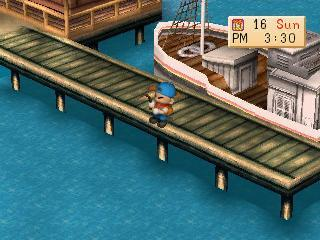 Screenshot Thumbnail  / Media File 8 for Harvest Moon - Back to Nature [U]