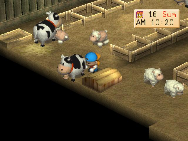Harvest Moon Back To Nature U Iso Slus 01115 Game Ps1 Iso