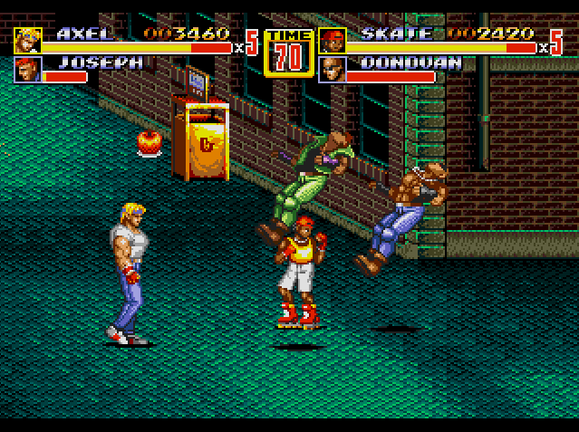 Streets of Rage 2 (USA) ROM