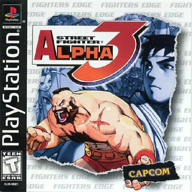 44016 Street Fighter Alpha 3 (E)(Quartex) 1 Games That Have a Special Place in your Heart