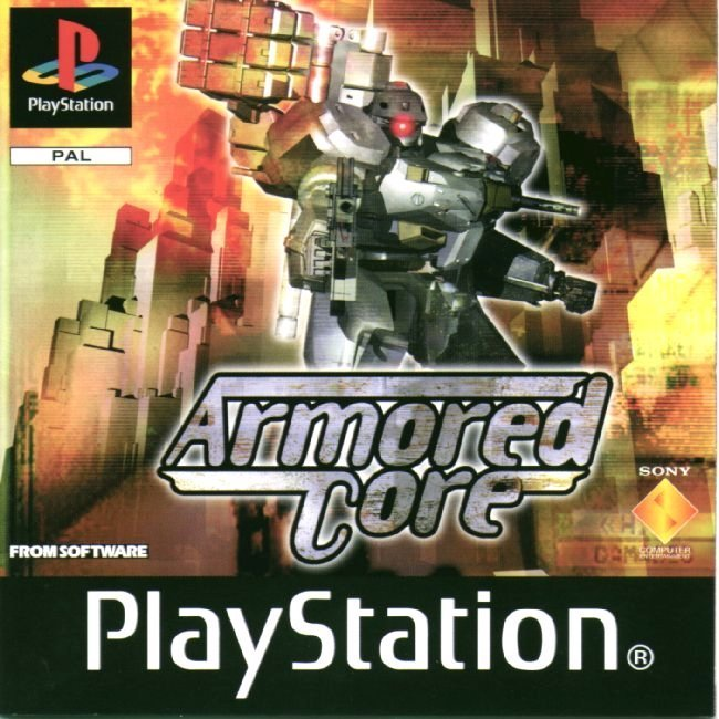 51833 Armored Core (E) 1 Games That Have a Special Place in your Heart