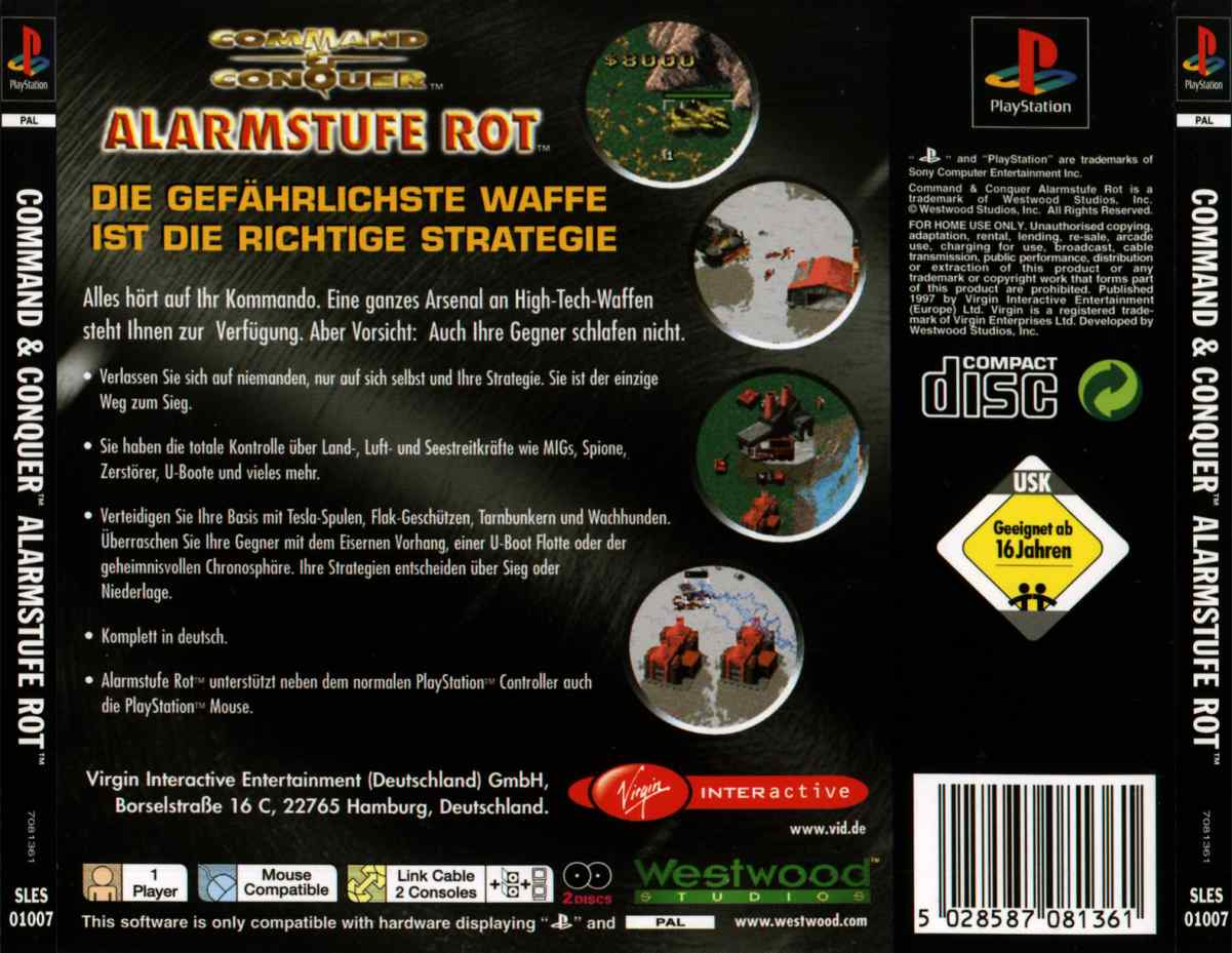 Command and conquer collection psx rom german : harmliby