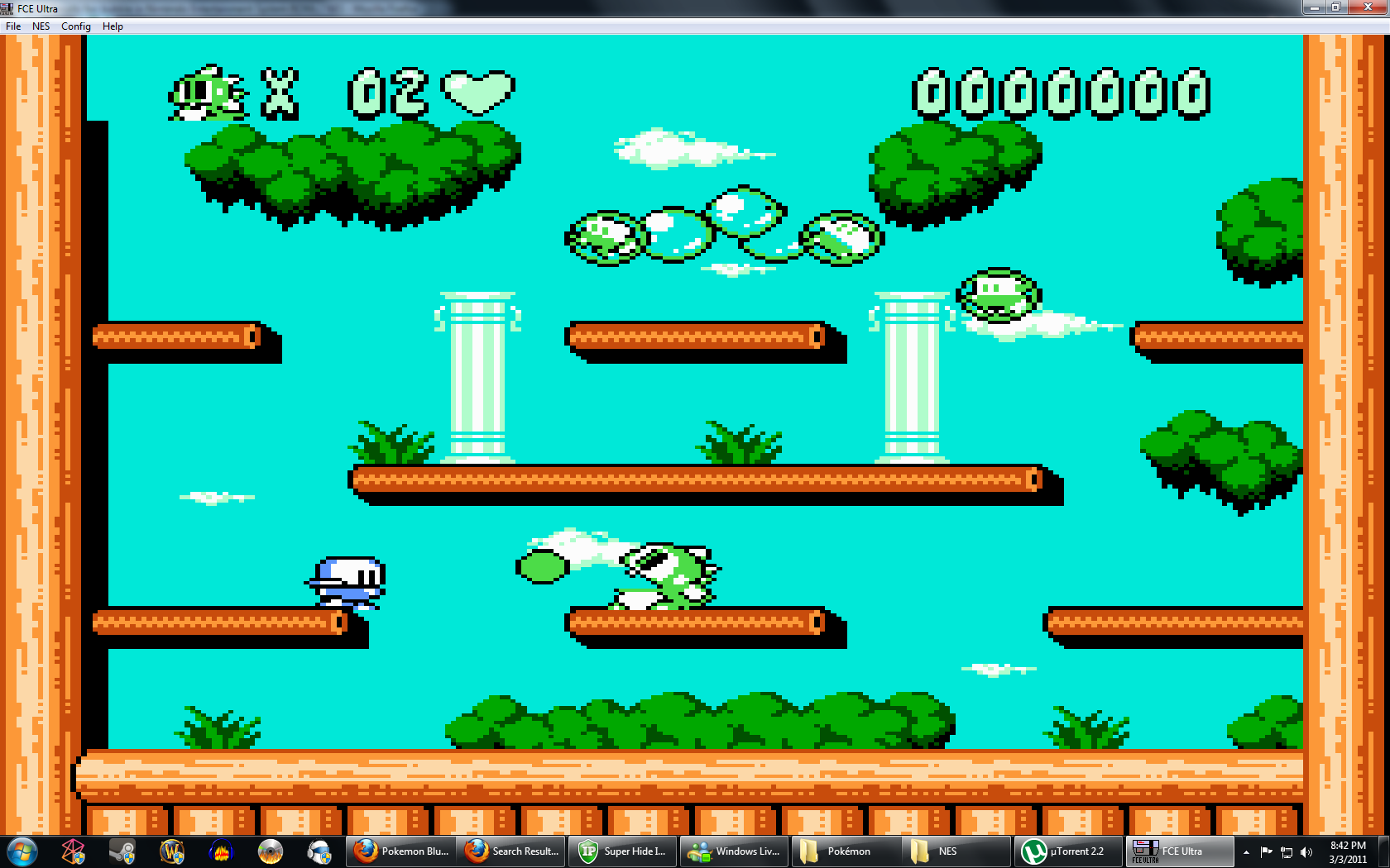 bubble bobble play online