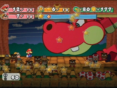 paper mario thousand year door level up guide