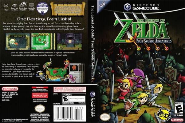 [NGC] Zelda Four Sword Adventures [NTSC-U] [Ingles]