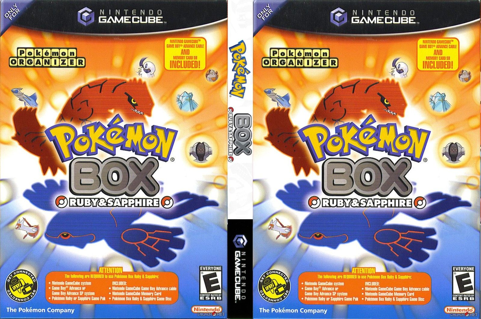 Pokemon Box Ruby Amp Sapphire Europe En Fr De Es It Iso