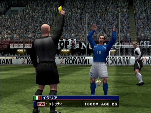 Screenshot Thumbnail / Media File 1 for Winning Eleven 6 - Final ...