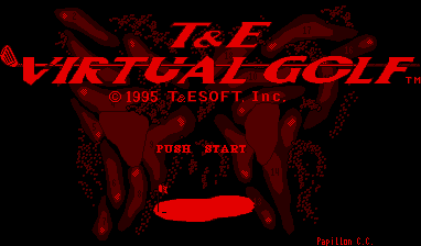 T & E VIRTUAL GOLF version japonesa 90911-T&E_Virtual_Golf_(Japan)-1