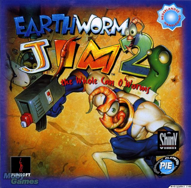 Earth Worm Jim 2 (1996)(Rainbow Arts) Game < DOS Games | Emuparadise